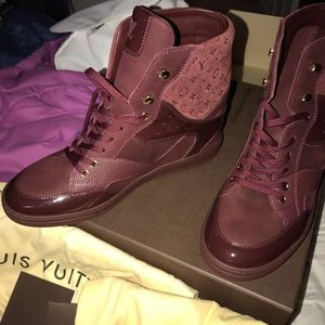 Brand New Louis Vuitton wedge sneakers